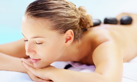 Hot Stone Massage Packages at The Spa at Envision Wellness (Up to 50% Off). Two Options Available.