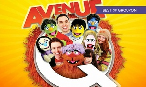 ATG Tickets: Avenue Q at Palace Theatre, 3rd - 7th May (Up to 57% Off): £15