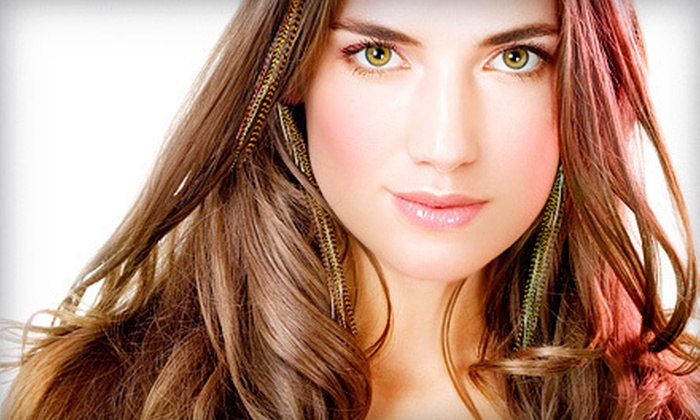 Trendsetter Hair Clinic - Cataraqui Westbrook: Feather Extensions, Wigs, Hair Extensions, or Scalp Massage and Conditioning at Trendsetter Hair Clinic (Up to 56% Off)
