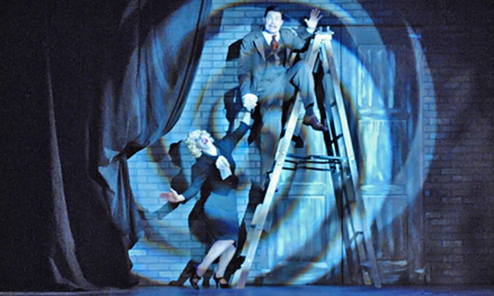 """""""The 39 Steps"""" - Calgary: $48 for One Ticket to """"The 39 Steps"""" at Stage West Theatre Restaurant on March 20 or April 1 (Up to $96.60 Value)"""