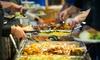 Chinesisches Mittags-Buffet