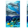 "2-Pack of 30""x60"" Fiber-Reactive Printed Beach Towels"