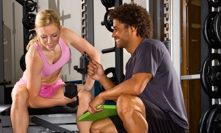 One or Three Full-Access Membership with Two Personal-Training Sessions to World Gym (Up to 63% Off)