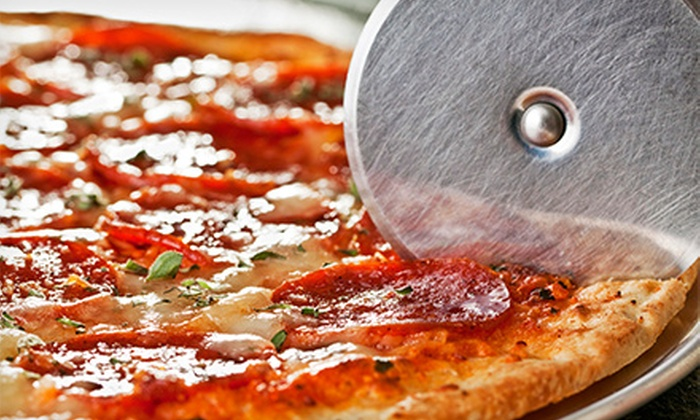 Pizza Shack - Livonia: $12 for Two Medium Pizzas with Two Regular Toppings and One Order of Breadsticks at Pizza Shack ($25.13 Value)