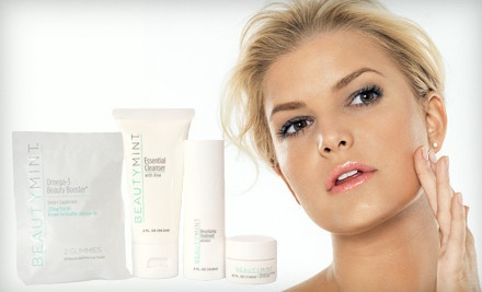 Good for a BeautyMint Anti-Aging Starter Kit (a $97 value) - Anti-Aging Skincare Kit in