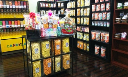 Gourmet Popcorn and Confections at International Popcorn (47% Off). Two Options Available.