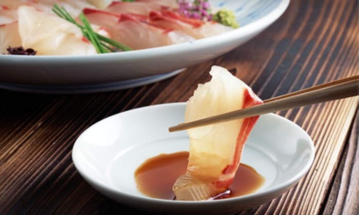 Shima Sushi - Downtown: Six-Course Japanese Dinner for Two or Four at Shima Sushi (Up to 52% Off)