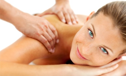 60-Minute Massage, or 30-Minute Massage with 30-Minute Head and Neck Massage at A.H.A. Wellness Services (51% Off)