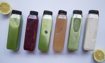 One or Three Day Juice Cleanse from Cooked Chicago (Up to 50% Off)