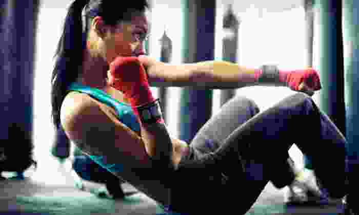 Fight Club University - Northeast Arcadia Lakes: Two Months of Unlimited Boxing-Fitness Classes or 15 Boxing Boot-Camp Classes at Fight Club University (Up to 84% Off)