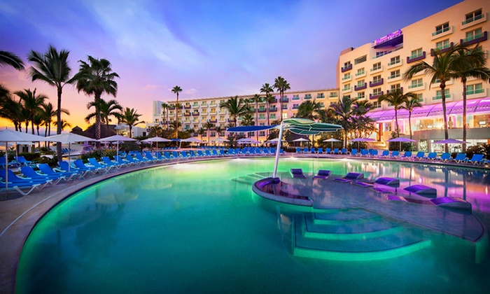All-Inclusive Mexican Vacation with Air from Vacation Express - Nuevo Vallarta, Mexico: 5- or 7-Night All-Inclusive Nuevo Vallarta Vacation with Airfare, Meals, and 4-Star Accommodations from Vacation Express