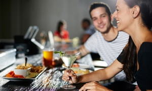 3 LOUNGE: Appetizers and Cocktails for Two or Four at 3 Lounge (67% Off)