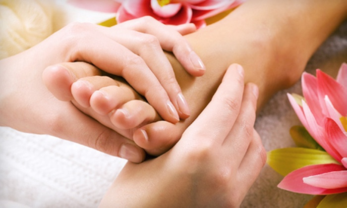 Bliss Foot Spa - Cooksville: Hot-Stone Massage, Reflexology Treatment, and Pedicure for One or Two at Bliss Foot Spa in Mississauga (Up to 72% Off)