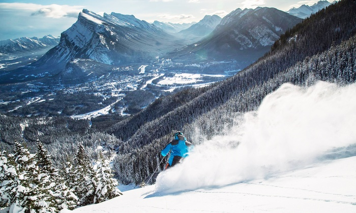 Mt Norquay - Mt Norquay: One-Day All-Inclusive Lift Ticket with Option for Ski or Snowboard Rental at Mt Norquay (Up to 35% Off)