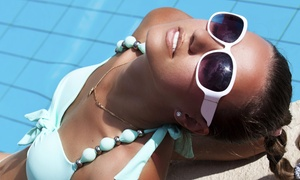The Glam Parlor and Day Spa: Up to 54% Off Organic Spray Tans at The Glam Parlor and Day Spa