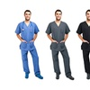 Green Town Scrubs Set (2-Piece)