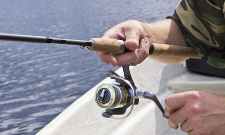 Fishing Trip for One, Two, or Four, Valid Sunday–Thursday or Any Day from Midnight Star (Up to 54% Off)