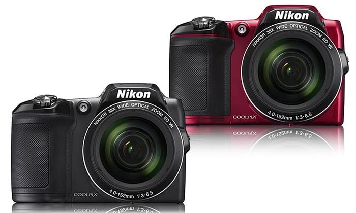 Nikon CoolPix L840 16MP Digital Camera with 38x Zoom (Manufacturer Refurbished)