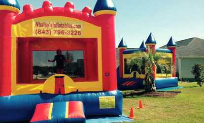 Image Placeholder For 81 A 13x13 Bounce House Rental From Whaleys Inflatables 160 Value