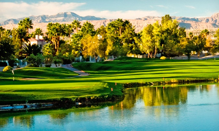 Painted Desert Golf Club - Las Vegas: 18-Hole Round of Golf with Cart Rental for One, Two, or Four at Painted Desert Golf Club (Up to 71% Off)