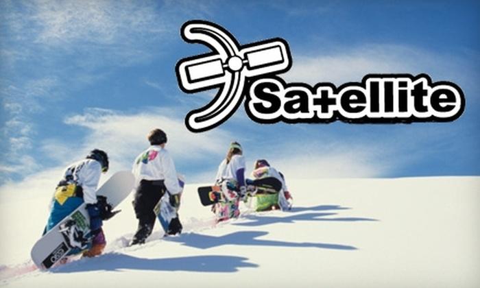 Satellite Board Shop - Boulder: $10 for Ski or Snowboard Tune-Up ($40 Value) at Satellite Board Shop in Boulder