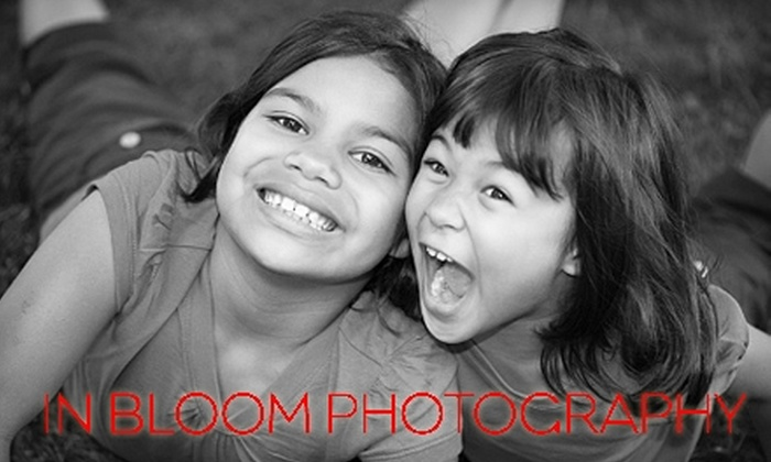 In Bloom Photography - Pearl: $79 for At-Home or Outdoor Photography Session Plus Prints from In Bloom Photography