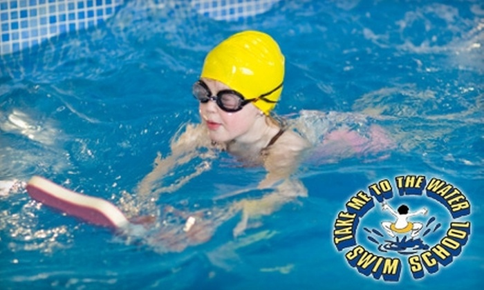 Take Me to the Water - Multiple Locations: $40 for Two Semi-Private Swim Lessons at Take Me to the Water ($80 Value)