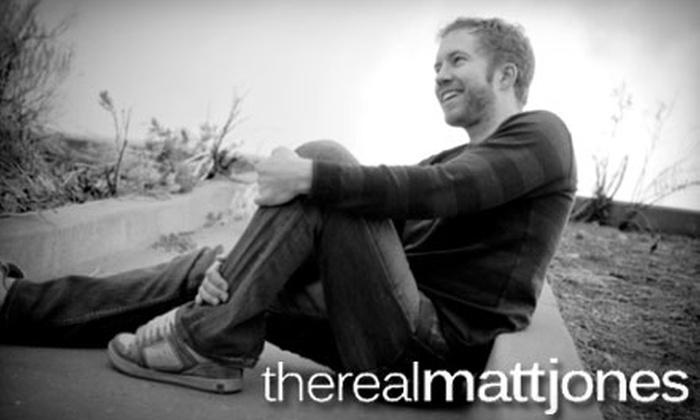 The Real Matt Jones - Near North Valley: $10 for a Concert Ticket and CD for The Real Matt Jones ($20 Value)