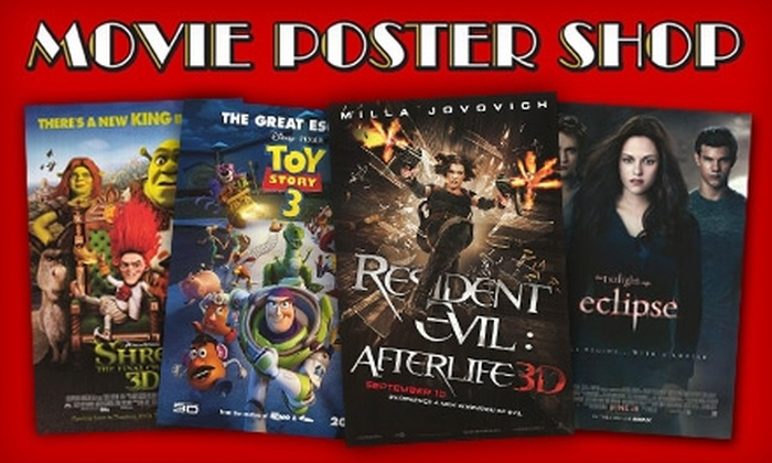 Movie Poster Shop - Crescent Heights: $10 for $20 Worth of Posters, Prints, and Photos from Movie Poster Shop