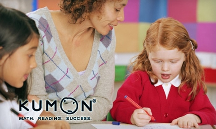 Kumon - Pompano Beach: $80 for One-Month Start-Up Package at Kumon ($180 Value)