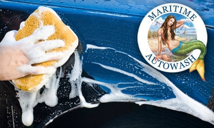 Maritime Auto Wash - Multiple Locations: $15 for a Full-Service Exterior and Interior Carwash at Maritime Auto Wash in Annapolis and Severna Park