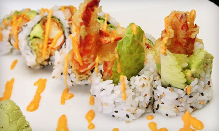 Yotsuba Japanese Restaurant & Bar - Multiple Locations: Sushi and Japanese Fare for Lunch or Dinner at Yotsuba Japanese Restaurant & Bar (Half Off). Two Locations Available.