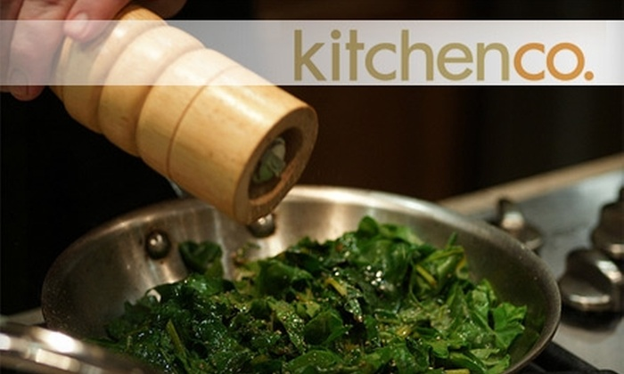 Kitchen Co. - River Mountain: $20 for a Choice of Cooking Class at Kitchen Co.