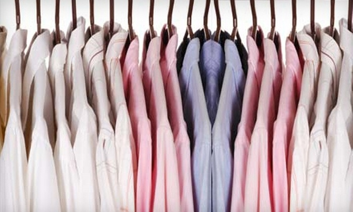J Fields Cleaners - Rancho Santa Margarita: $15 for $40 Worth of Dry-Cleaning and Laundry Services at J Fields Cleaners in Rancho Santa Margarita