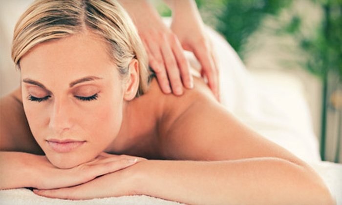 BlushThis Salon & Beautique - Quest Village: Deluxe Custom Massage or Custom Massage with Cold-Laser Treatment at BlushThis Salon & Beautique in Cedar Park (Half Off)