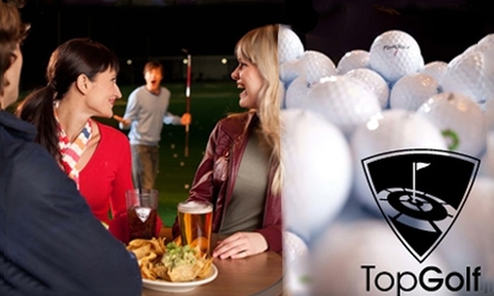 TopGolf - Franconia: $18 for a TopGolf Playing Card ($40 Value)