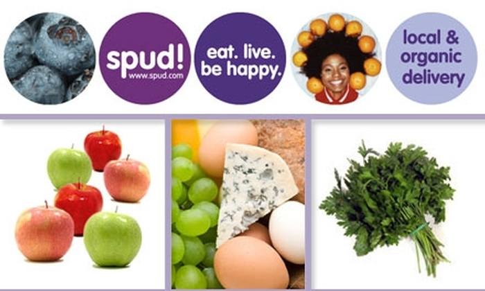 Spud  - Los Angeles: $25 for $50 Worth of Spud! Wholesome Organic Grocery Delivery Service