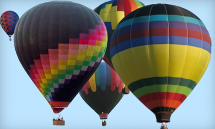 Airbus Balloon Rides LLC - Van Buren: Hot Air Balloon Ride and Factory Tour for One or Two from Airbus Balloon Rides LLC in Bloomington (Up to 53% Off)
