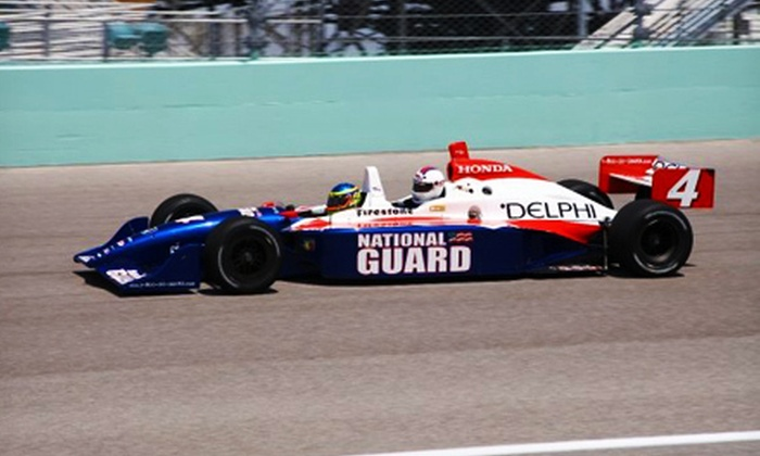 Indy Racing Experience - Indianapolis: $249 for a Three-Lap Ride-Along at Indianapolis Motor Speedway from Indy Racing Experience ($499 Value)