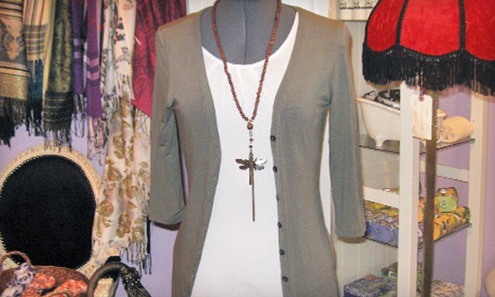 Angela's Attic - Bragg Creek: $20 for $40 Worth of Fashion and Style Accessories, Home Decor, and Unique Gifts at Angela's Attic in Bragg Creek