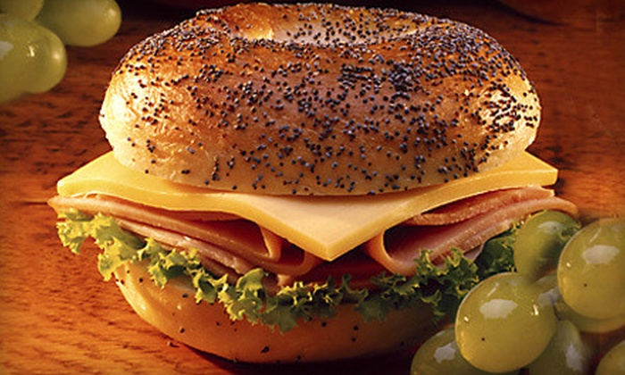 The Bagel Bin - Lake Cook Road: Sandwiches for Two or Four at The Bagel Bin in Deerfield (Half Off)