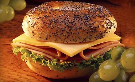 Sandwiches for 2 (an $18 value) - The Bagel Bin in Deerfield