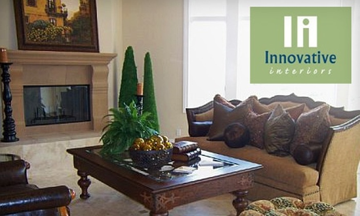 Innovative Interiors - Salt Lake City: $80 for a Two-Hour Consultation and Redecoration from Innovative Interiors