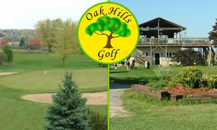 Oak Hills Golf Club - Oak Creek: $19 for Nine Holes of Golf for Two People Including a Cart at Oak Hills Golf Club (Up to $42 Value)