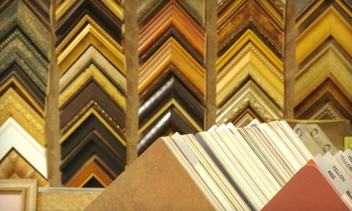 J.B. Picture Framing Studio - Blaine: $49 for $120 Worth of Custom Framing at J.B. Picture Framing Studio in Blaine