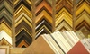 JB Picture Framing Studio - Blaine: $49 for $120 Worth of Custom Framing at J.B. Picture Framing Studio in Blaine