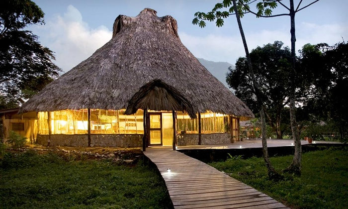 Cotton Tree Lodge - chicago: $739 for a Four-Night Deluxe Cabana Package for Two at the Cotton Tree Lodge in Belize ($1,489 Value)