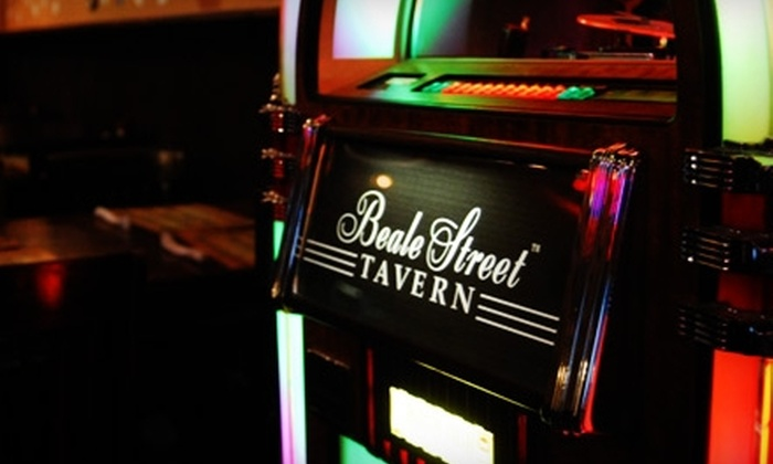 Beale Street Tavern - Downtown: $10 for $20 Worth of Tavern Fare at Beale Street Tavern