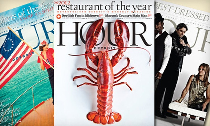 """""""Hour Detroit"""" Magazine: One-Year or Two-Year Subscription to """"Hour Detroit"""" Magazine (Up to 55% Off)"""