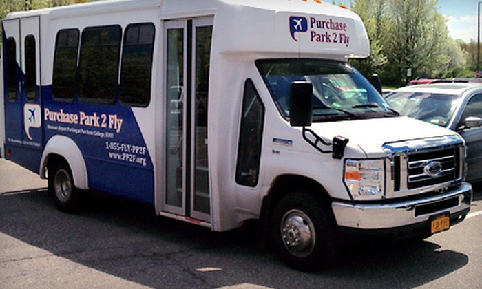 Purchase Park 2 Fly - Riversville,Rye Brook: Three, Five, or Seven Days of Airport Parking with Shuttle Service at Purchase Park 2 Fly (Up to 64% Off)